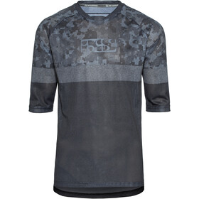 IXS Carve Air 3/4 Jersey Men black/camo